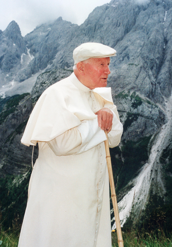 The Blessed Pope John Paul II